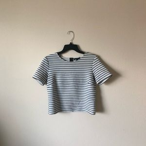 Striped Forever 21 top